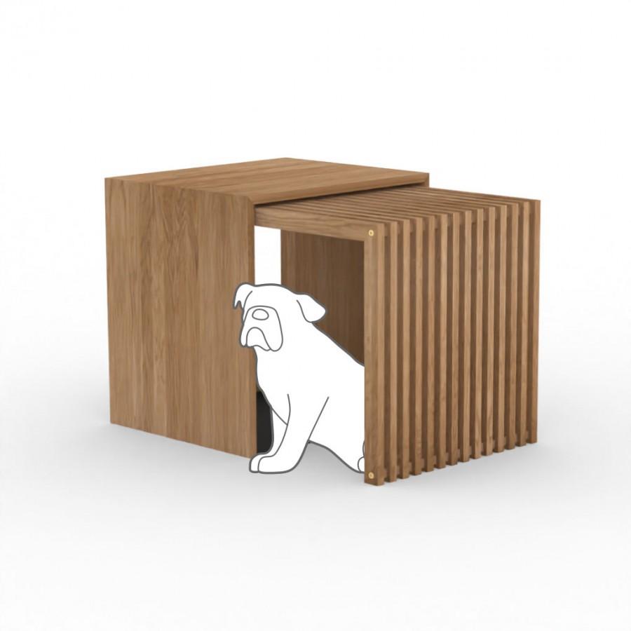 Hundebox  Stockholm 2.0 Medium Eiche