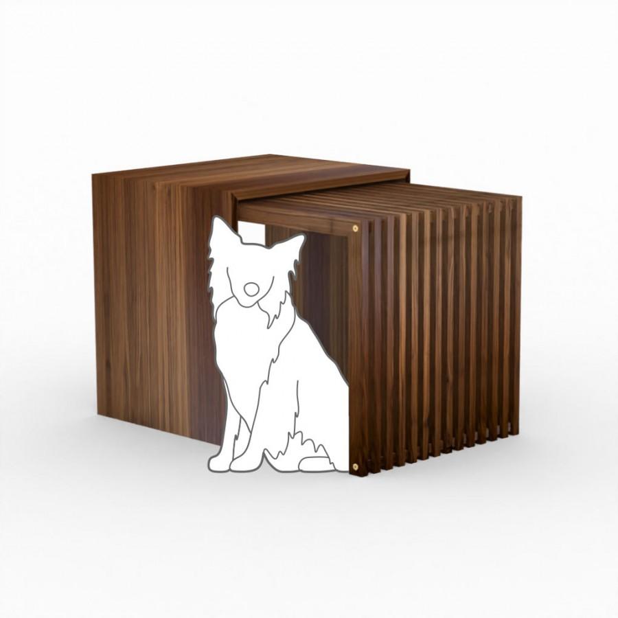 Hundebox  Stockholm 2.0 Medium Nuss