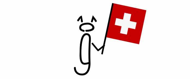 Sig-Ma-Designs Logo-Ghutzerl mit Schweizerflagge