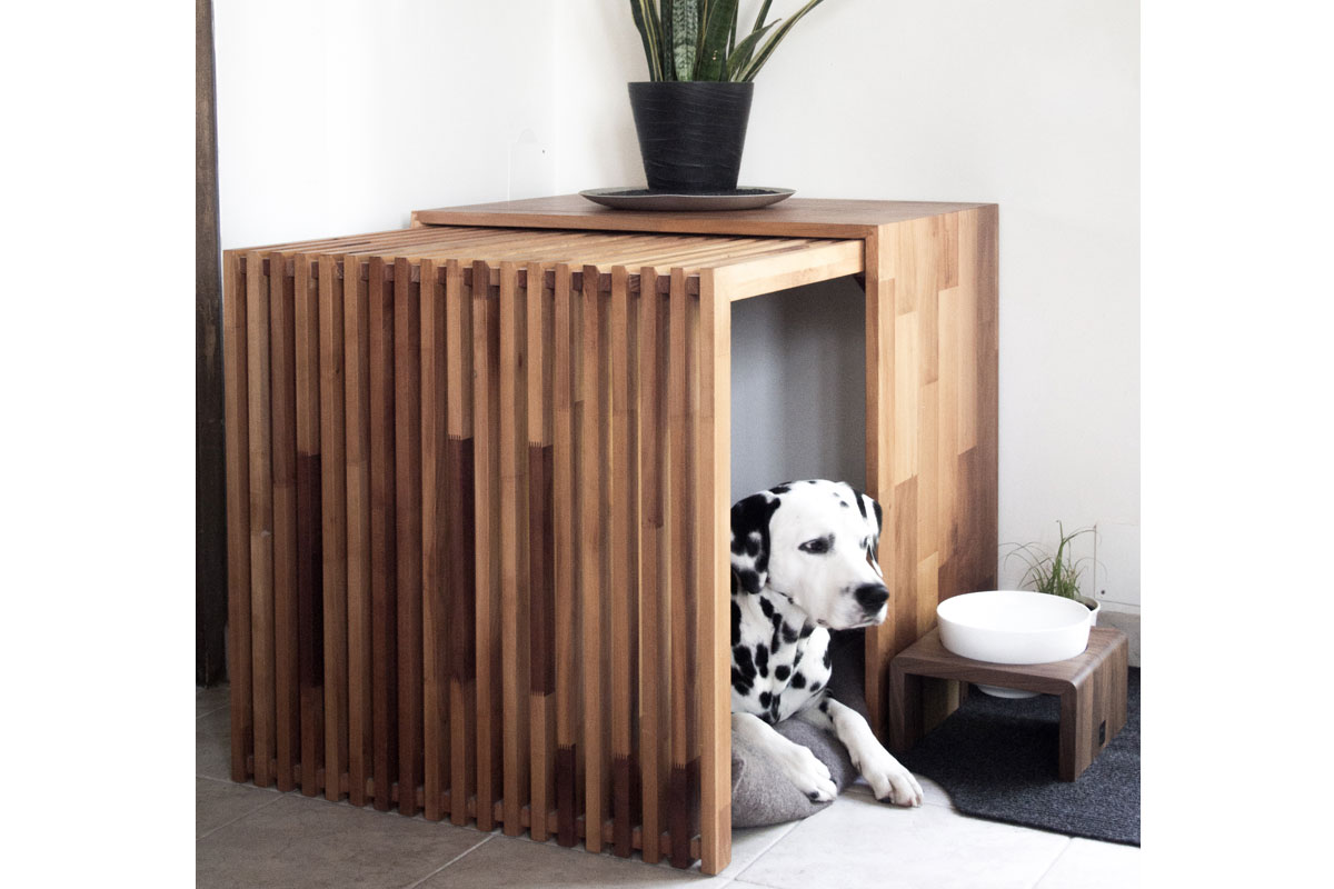 indoor dog house stockholm. Black Bedroom Furniture Sets. Home Design Ideas